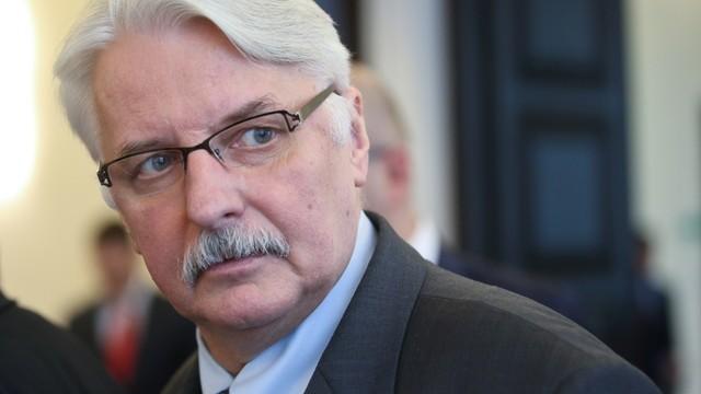 Waszczykowski: Komisja Wenecka wyda opinię, nie wyrok