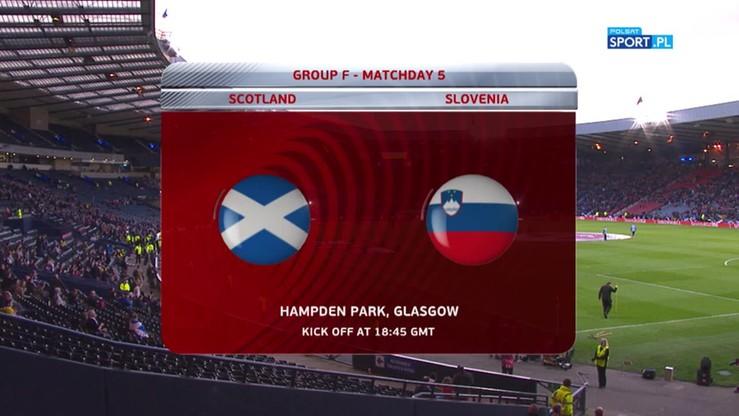 Szkocja - Słowenia 1:0. Skrót meczu