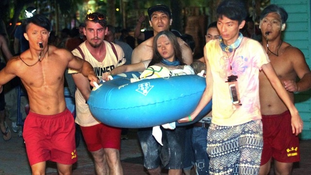 Tajwan: ponad 500 rannych w wyniku pożaru w parku rozrywki