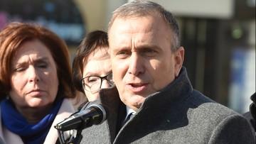 """15-02-2017 16:58 """"Metropolia śląska ma sens"""". Schetyna zapowiada, że PO poprze projekt ustawy, jeśli """"będzie sensowny"""""""