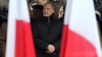 """20-02-2017 22:12 """"Katastrofa smoleńska realną stratą dla bezpieczeństwa Polski i NATO"""" - Macierewicz"""