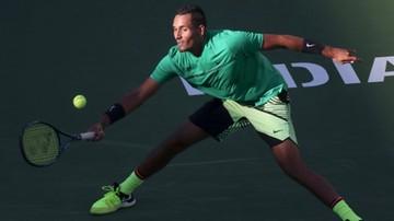 2017-03-17 ATP Indian Wells: Kyrgios przegrał z chorobą. Nie zagra z Federerem