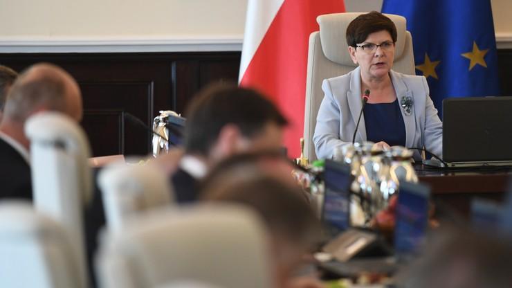 Premier Szydło: nie będę marszałkiem Sejmu