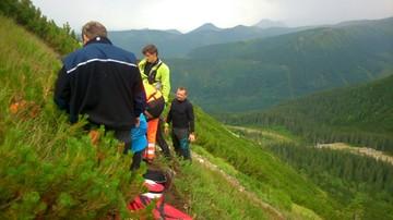 26-07-2016 22:12 Piorun zabił turystę w Tatrach