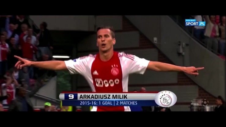 2016-07-26 Ostatni sezon Milika w Ajaksie? 21 goli Polaka w Eredivisie!