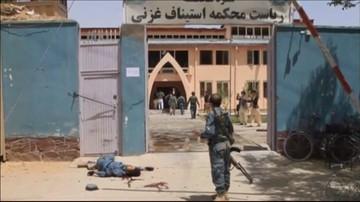 01-06-2016 12:33 Atak talibów na sąd w Afganistanie. Nie żyje 6 osób