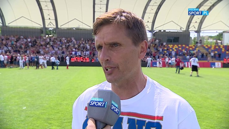 Piłkarze Górnika porwali trenera po wywiadzie