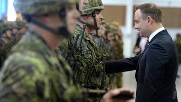 10-05-2016 19:20 Prezydent Duda w Kanadzie: NATO stoi na straży prawa międzynarodowego