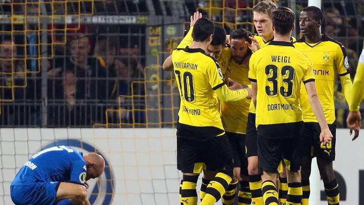 Puchar Niemiec: Borussia miażdży, Piszczek strzela i asystuje