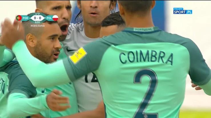Polska - Portugalia. Skrót meczu