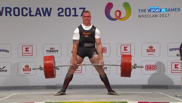 2017-07-26 Niesamowity wyczyn Polaka! Poprawił rekord świata o 22,5 kg