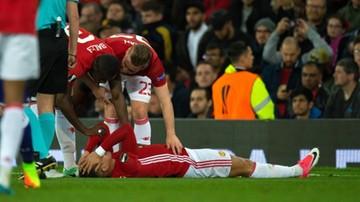 2017-04-22 Cóż za pech Manchesteru United! Kolejny piłkarz zerwał więzadła