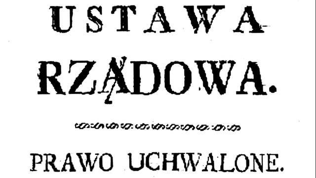 Szczecin - oryginał Konstytucji 3 Maja na wystawie