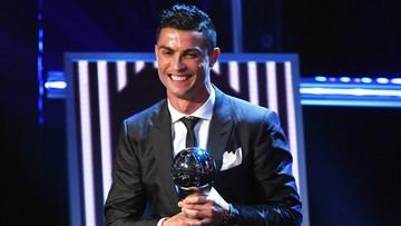 23-10-2017 22:46 Cristiano Ronaldo najlepszym piłkarzem świata w plebiscycie FIFA. To jego piąty tytuł