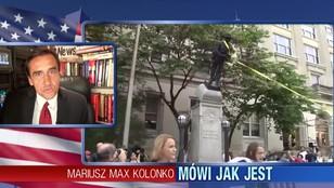 Mariusz Max Kolonko - demonstranci obalili pomnik żołnierzy Konfederacji
