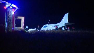 30-06-2016 12:13 Wypadek awionetki pod Poznaniem. Pilot mógł być nietrzeźwy