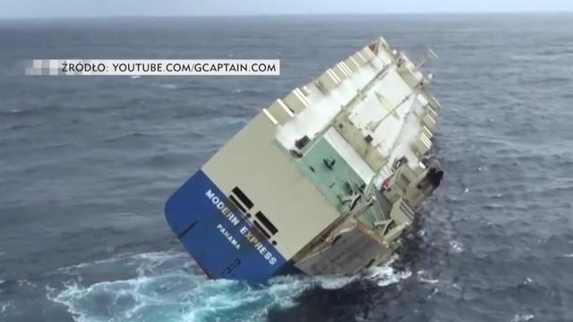 Gigant w przechyle. Statek o krok od zatonięcia