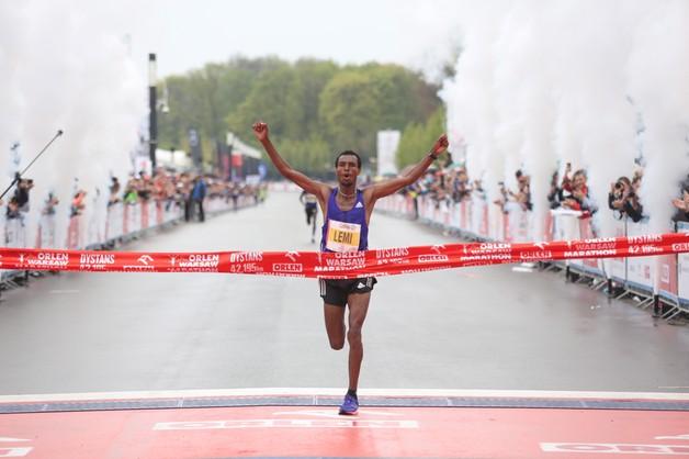 Orlen Warsaw Marathon: Etiopczyk Berhanu zwycięzcą