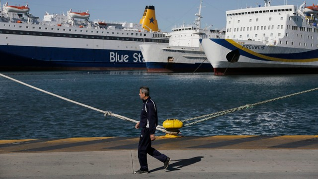 Grecja: marynarze kontynuują strajk, zapowiadane są kolejne protesty