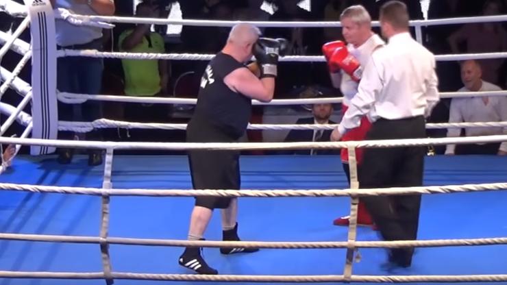Ponad 130 lat w ringu! Weterani boksu rozwiązali konflikt (WIDEO)