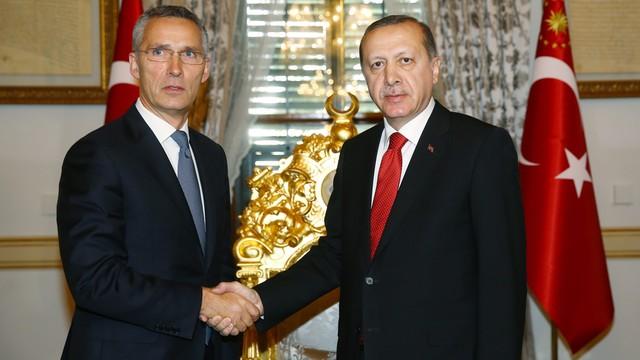 Erdogan chce od NATO większego wsparcia w walce z terroryzmem