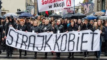 """22-10-2016 15:07 """"Strajk kobiet odbędzie się w ponad stu miastach"""""""