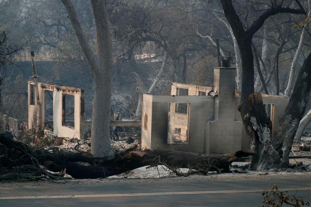 Tragiczne pożary w Kalifornii