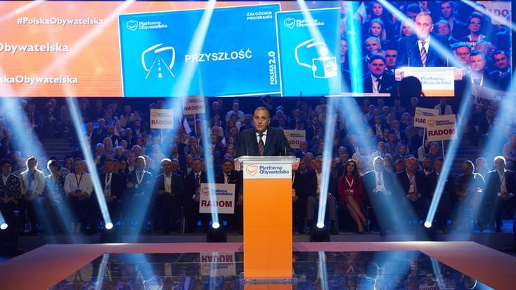 Dla 40 proc. PO jest główną opozycją; dla 11 proc. – Nowoczesna