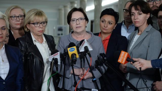 PO: szefowa Kancelarii Sejmu nie chce wpuścić do Sejmu kobiet z organizacji pozarządowych