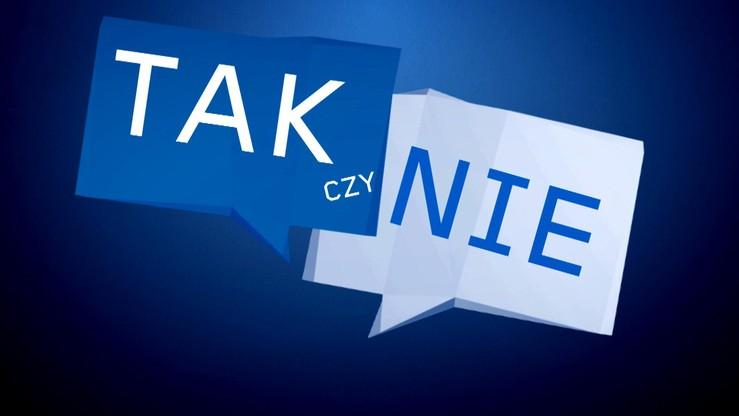 """Czy polityka powinna być uprawiana na ulicy? – wyniki sondy programu """"Tak czy Nie"""""""