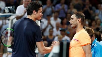 2017-01-06 ATP w Brisbane: Raonic pokonał Nadala i jest w półfinale