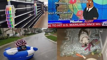 """07-10-2016 08:46 Amerykanie przygotowują się na nadejście huraganu #Matthew. Puste półki w sklepach i... maraton w """"Monopoly"""""""
