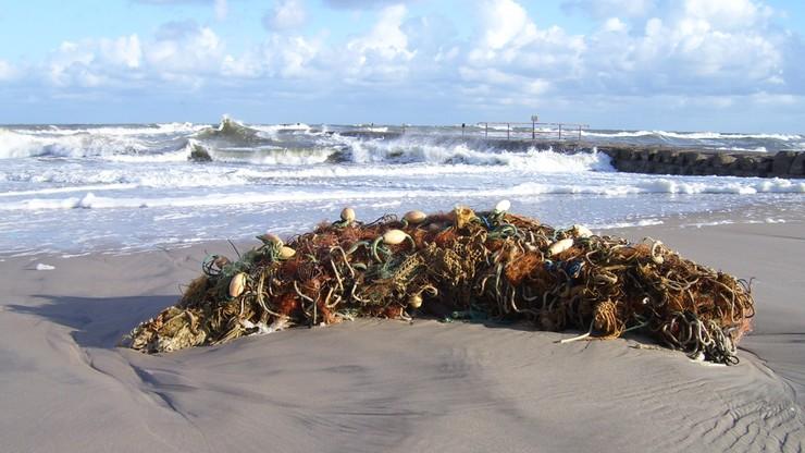 268 ton sieci widm wyłowiono z Bałtyku