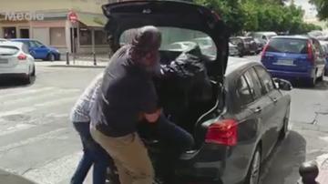 2017-08-01 Hiszpanie uprowadzili Navasa! Piłkarz w bagażniku z czarnym workiem na głowie (WIDEO)