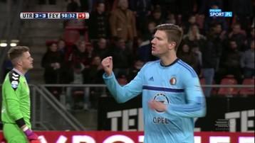 2016-11-27 Piłkarz Feyenoordu Rotterdam strzelił wyrównującego gola w 99. minucie! (WIDEO)
