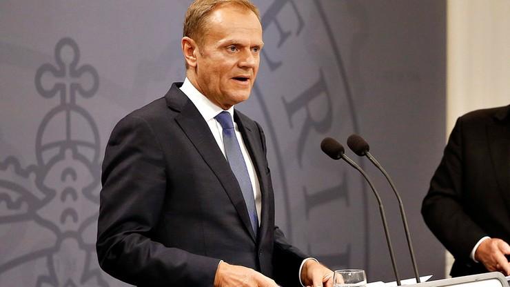 """Tusk krytykuje b. burmistrza Londynu za porównanie UE do """"superpaństwa Hitlera"""""""