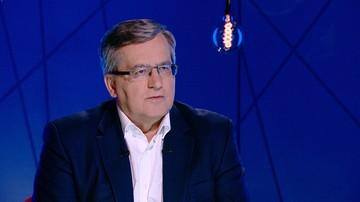 03-02-2017 21:47 Komorowski: gen. Skrzypczak powiedział to, o czym myśli wielu oficerów