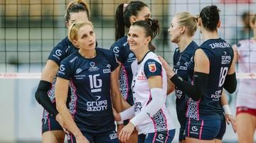 2017-01-10 Liga Mistrzyń:  Siatkarki Chemika rozgromiły Telekom Baku