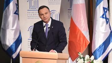 Duda: Polacy i Żydzi stawali ramię w ramię w obronie Rzeczypospolitej