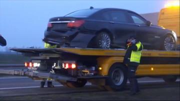 04-03-2016 17:37 Incydent z udziałem limuzyny prezydenta na autostradzie A4