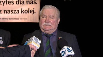 Lech Wałęsa po reelekcji Tuska