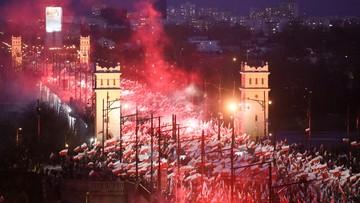 """13-11-2017 13:51 """"Defilada ekstremistów"""", """"biali nacjonaliści"""", """"upiorna atmosfera"""". Marsz Niepodległości oczami zagranicznej prasy"""