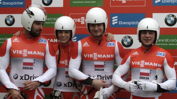 PŚ w saneczkarstwie: Polacy trenują na olimpijskim torze w Pjongczangu