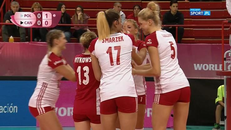 Polska - Kanada 3:0. Skrót meczu