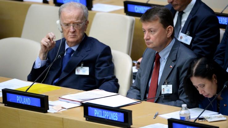 Błaszczak: ONZ i Unia Europejska są przesiąknięte poprawnością polityczną