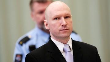 """20-04-2016 17:24 Breivik wygrywa przed sądem. """"Izolacja jest nieludzkim traktowaniem"""""""