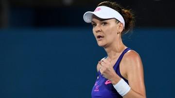 2017-01-10 WTA Sydney: Radwańska awansowała do ćwierćfinału