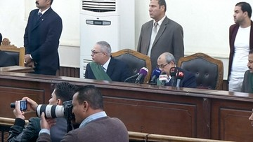 30-12-2017 13:05 Były prezydent Egiptu skazany za obrazę władzy sądowniczej