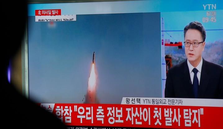 Nieudana próba rakietowa Korei Północnej. Pociski eksplodowały chwilę po odpaleniu