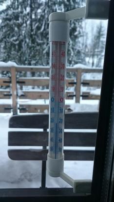 W Zakopanem było minus 20 stopni.